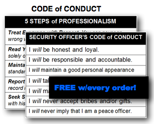 Code of conduct movie